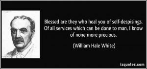 More William Hale White Quotes