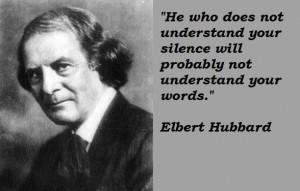 Elbert hubbard famous quotes 4