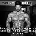 Fitness and Bodybuilding Motivational Quotes