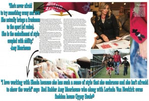 Gypsy Soule® & Shada Brazile Featured in Texas Techsan Magazine
