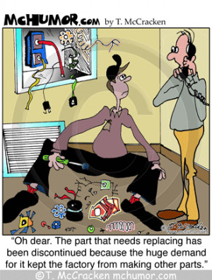 Funny Heating & Air Conditioning #HVAC Cartoons by T. McCracken