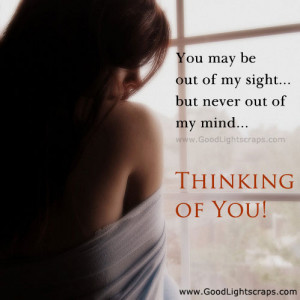 funny thinking of you quotes