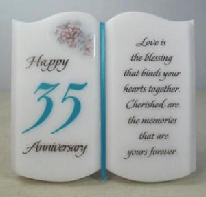 35th Wedding Anniversary Quotes Quotesgram