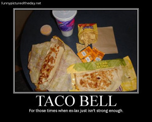 Funny Taco Bell Poster