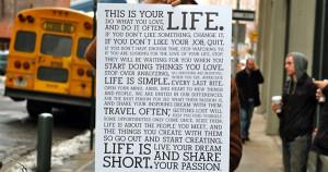 Um, words to live by... (I swear I'll get around to it, lol)