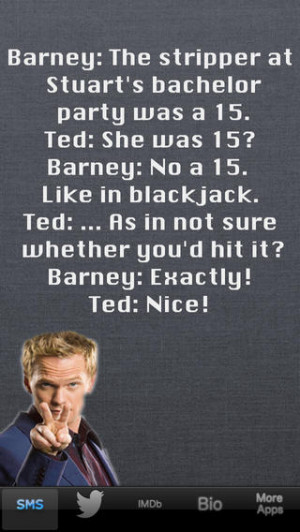 Barney Stinson Quotes...