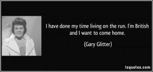 Gary Glitter Quote