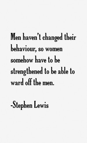 Stephen Lewis Quotes & Sayings
