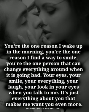 you re the one reason i wake up in the morning you re the one reason i ...