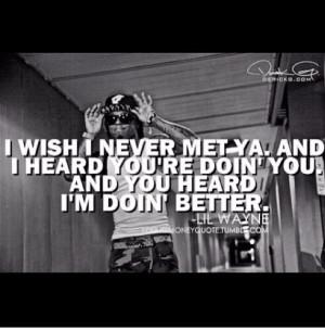 Lil Wayne Song Lyrics