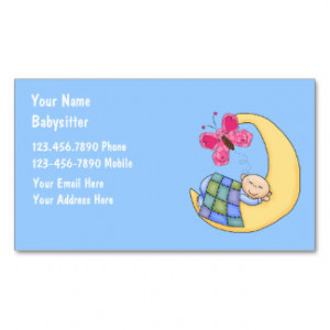 Baby Sitter Business Cards, 600+ Baby Sitter Business Card Templates