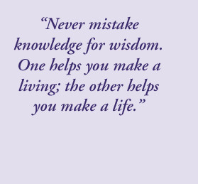 Knowledge Is Power quote #2