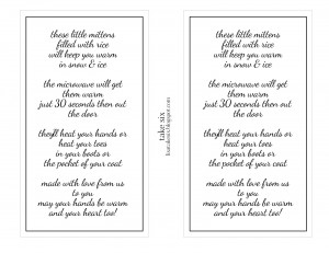Hand Warmers Poem Sweet 16 Poem For Daughter