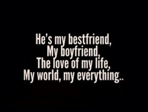 He's my everything quote ️ love quote ️