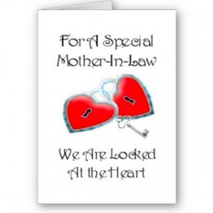 For A Special Mother In Law poem With Graphics Cards from Zazzle