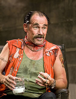 Actor Mark Rylance will accost members of the public and quote lines ...