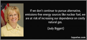 to pursue alternative, emissions-free energy sources like nuclear ...