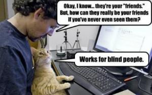 cyber friends