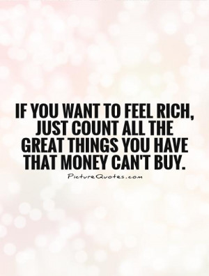 Money Quotes Rich Quotes Count Your Blessings Quotes