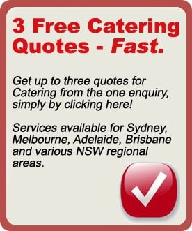 Sydney Catering Quote
