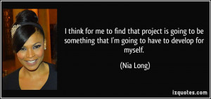 More Nia Long Quotes