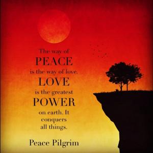 Peace Pilgrim quote