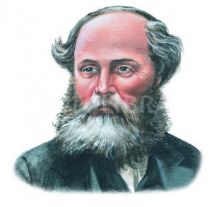 JAMES CLERK MAXWELL - ILLUSTRATION.