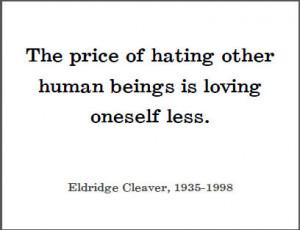 Eldridge Cleaver Printable Quote