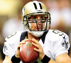 Drew Brees Makes Valentine