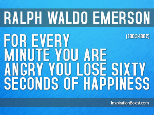 Ralph Waldo Emerson...