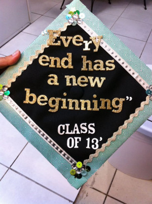 decorated graduation caps