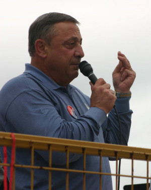 ... week, Governor Paul LePage made a statement that is deeply revealing