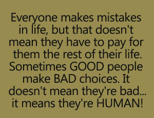 Good people bad choices