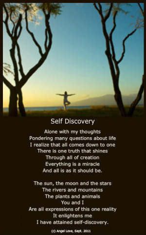 Self Discovery Quotes Sayings And