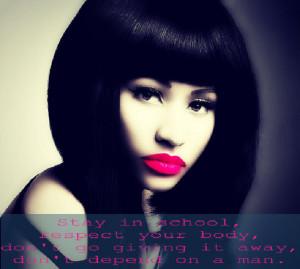 Nicki Minaj Quotes