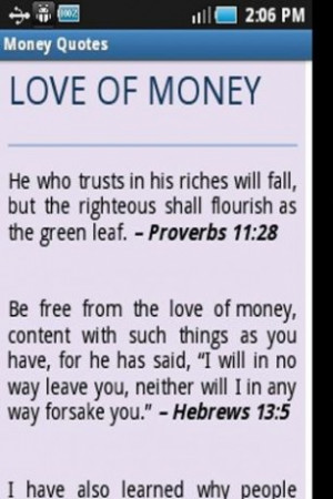 money quotes from bible verses is a comprehensive collection of quotes ...
