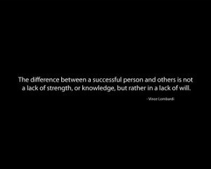 Will quotes text only Vince Lombardi black background - Wallpaper (...