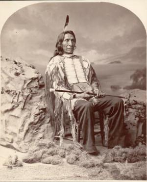 Chief Mahpina Luta (Red Cloud)