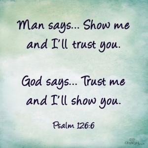 TRUST GOD.... †