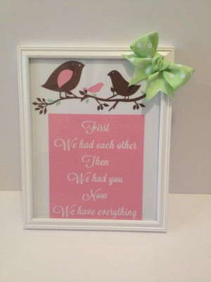 Framed quote for expecting mothers- Perfect Shower Gift! www.luluandb ...