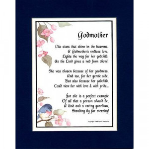 Godmother Poems and Quotes