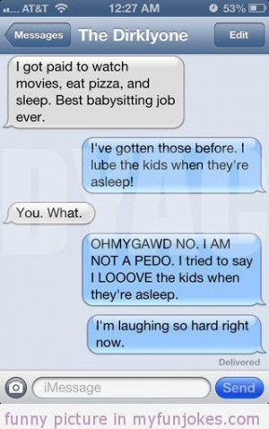 ... funny-sms/babysitter-funny-jokes-quotes-and-sayings/ #humor #prank #