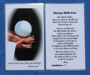 Know That I Am Always With You, Always With You…. ~ Prayer Quote