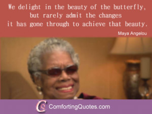 Best Maya Angelou Quote About Achieving Success