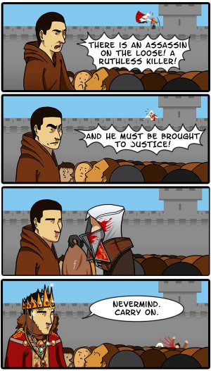 Think the Assassin's Creed Heralds Might be Taking Bribes