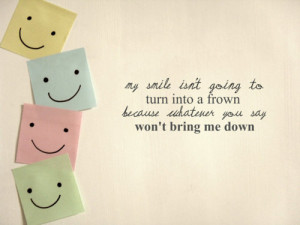 smile #can't bring me down #life quotes #picture quotes