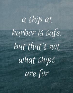 Sailing Quotes: Ships
