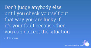 check yourself quotes