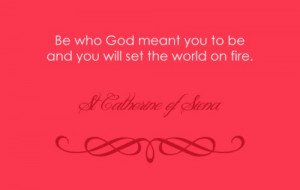 St. Catherine of Siena Quotes & Sayings