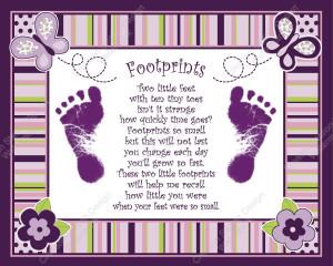 Baby Footprints Poem